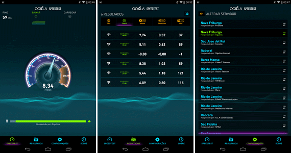 speed test copel para android