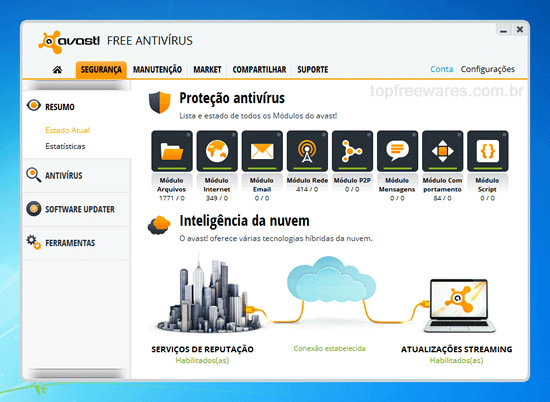 Antivírus gratuito para Windows - Avast Free Antivírus