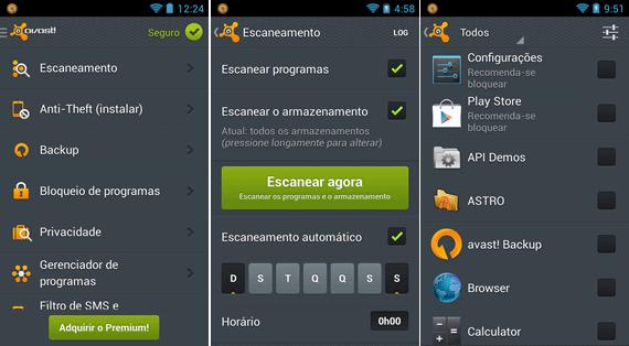 Top 5 antivírus gratuitos para Android