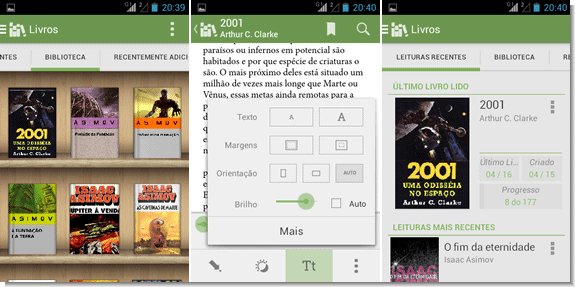 Leitor de ebooks para Android - Aldiko Book Reader