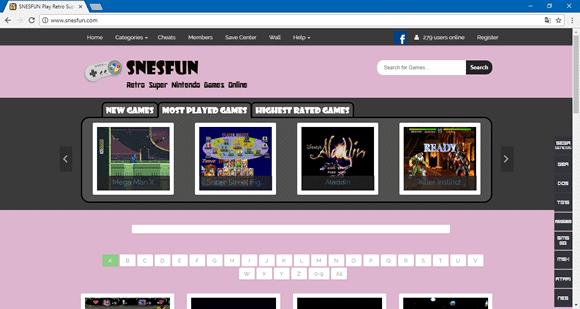 snesfun site