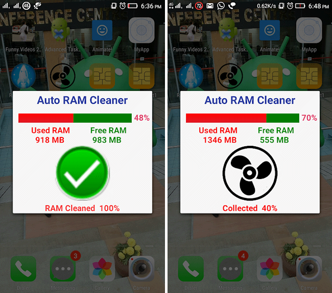 auto ram cleaner android