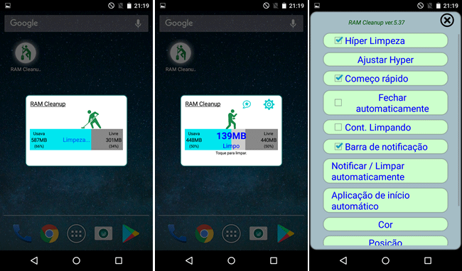 ram cleanup android