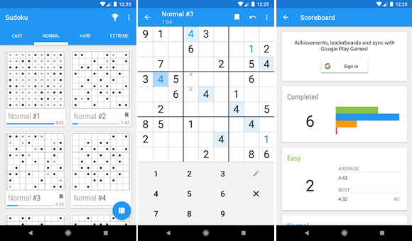 material sudoku android