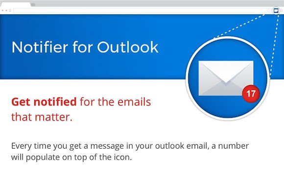 notifier for outlook