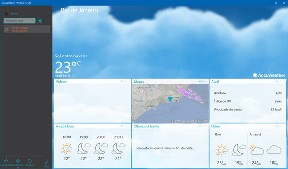 accuweather win10