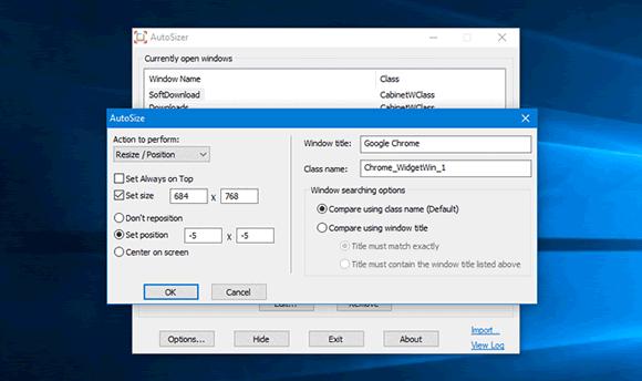 autosizer windows