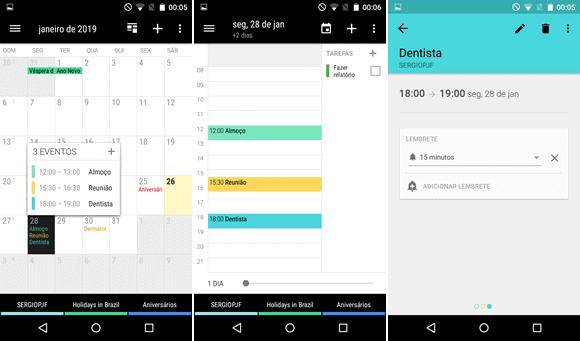 calendario business android