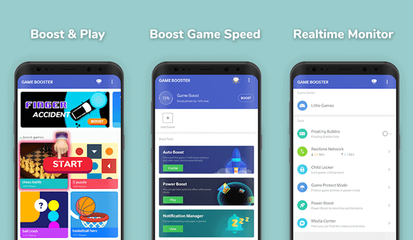 game speed optimizer android