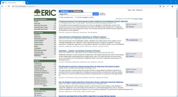 eric search