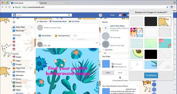 background changer facebook
