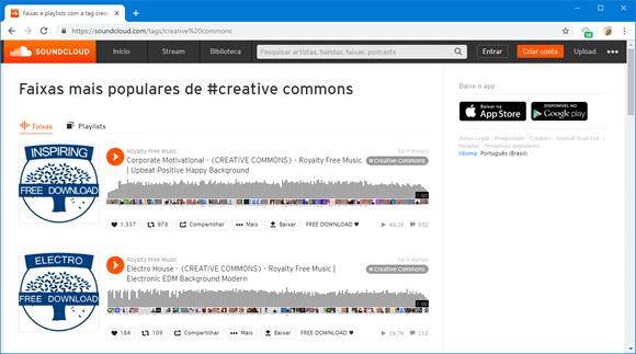soundcloud creative commons