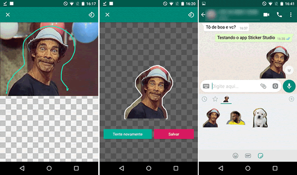 sticker studio android
