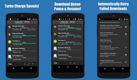 turbo download manager android