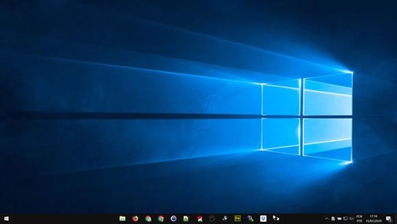 center taskbar windows