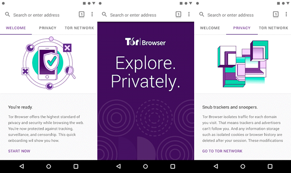 tor browser search