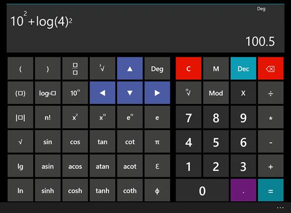 calculadora plus hd win10