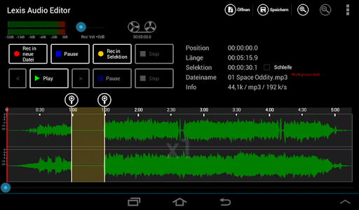 lexis audio editor android
