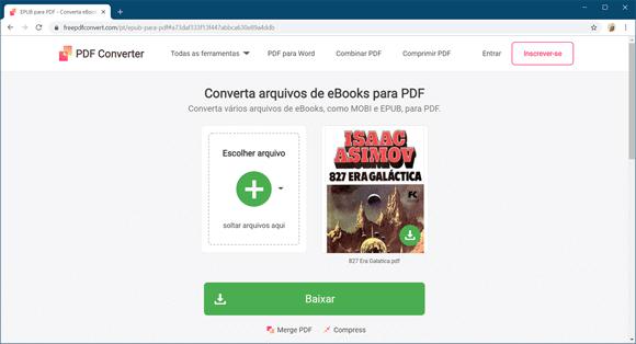 free pdf convert ebook