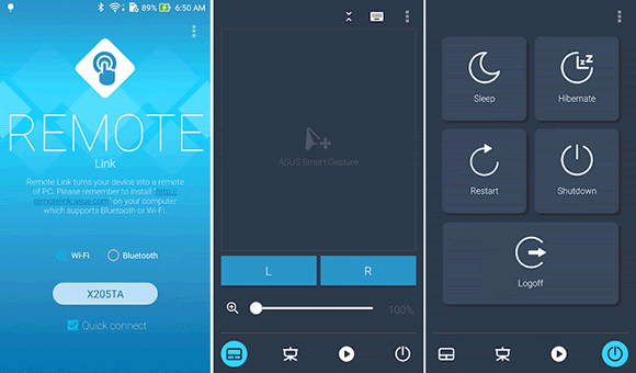 remote link android