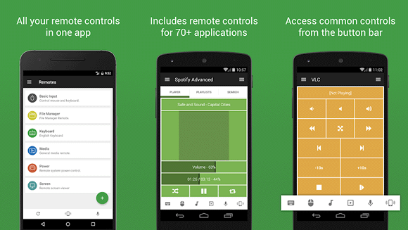 unified remote android