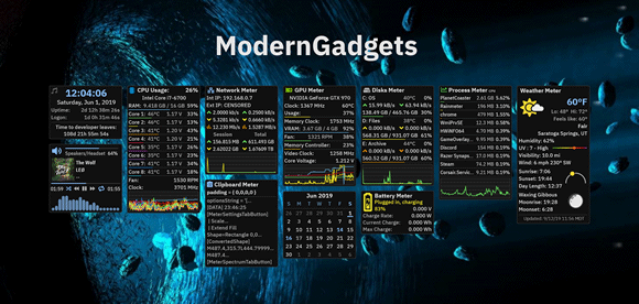 modern gadgets