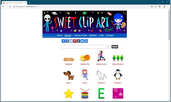 sweet clipart site