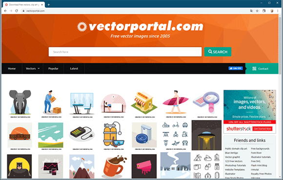 vector portal site
