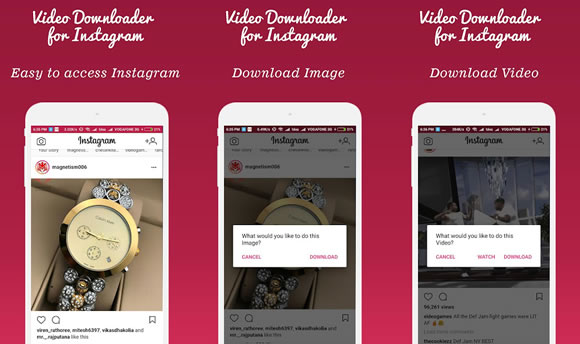 video downloader instagram android