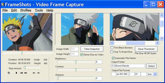 frameshots