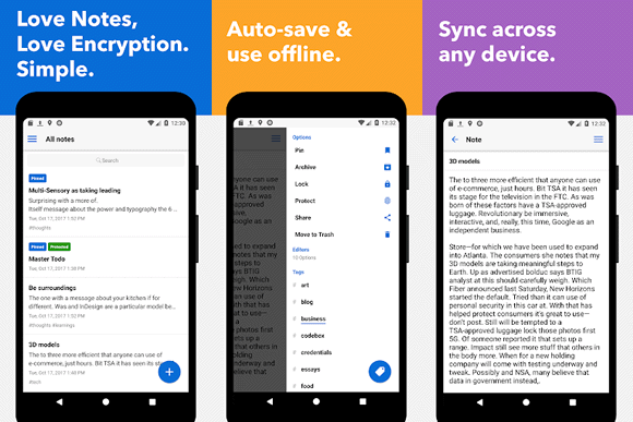 standarnotes android