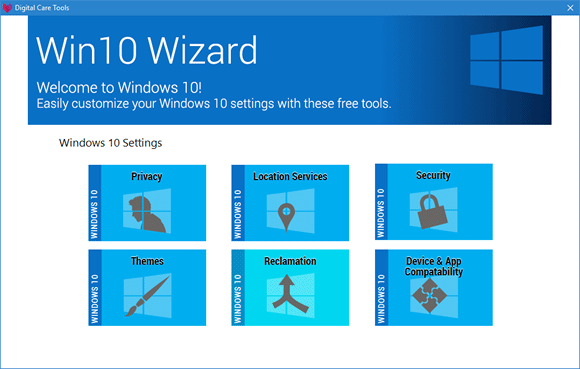 wind10 wizard