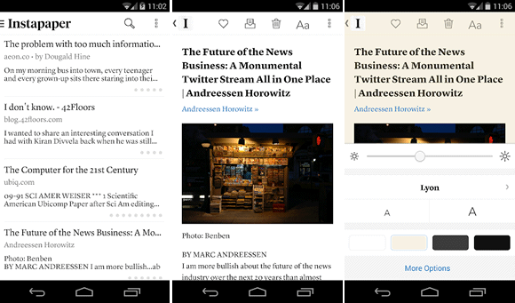instapaper android