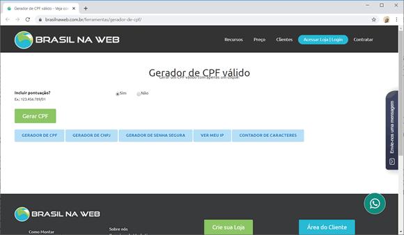 brasilnaweb cpf