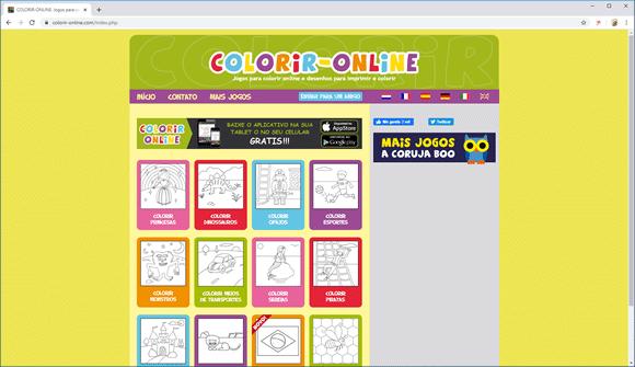 colorir online