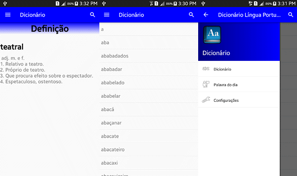 dicionario lp android
