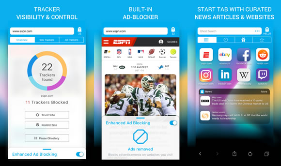 ghostery browser ios