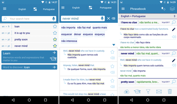 reverso context android