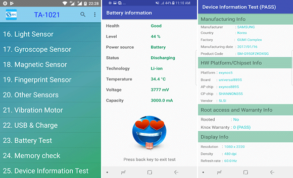device checker android