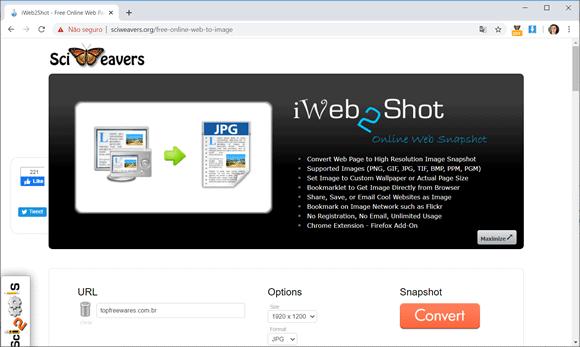 iweb2shot
