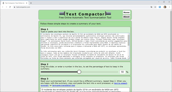 text compactor