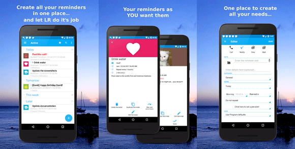 life reminders android