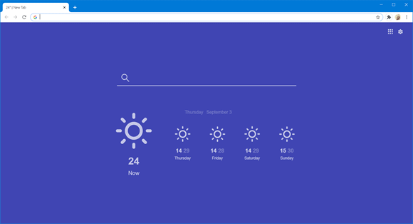 currently weather chrome