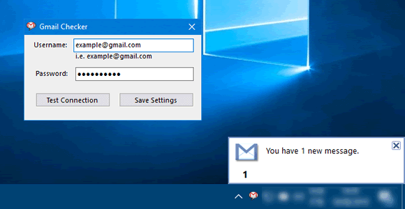 gmail checker windows