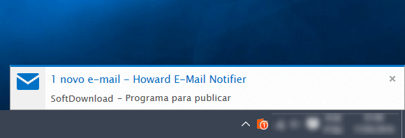 howard email notifier