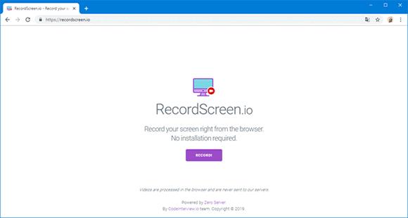 recordscreen io