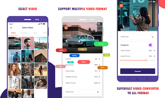 kkaps video converter android