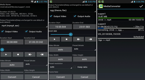 media converter android