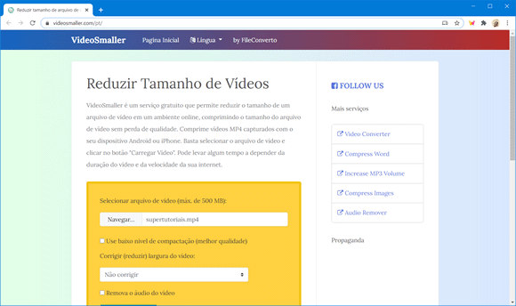 video smaller online