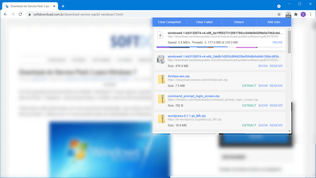 turbo download manager chrome